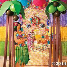 Balloon Crepe Palm Trees DIY