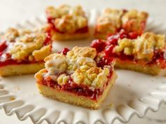 Get Cherry Pie Cookie Bars Recipe from Food Network
