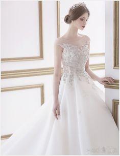 [웨딩드레스] ① 고귀하고 우아한 드레스 컬렉션, 모네뜨아르