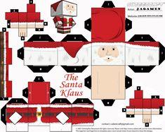 The Santa Klaus Cubeecraft by JagaMen.deviantart.com on @DeviantArt