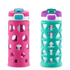 6 x Drink Bottle Lock Protectors Pink Combination Protect Spiking Kwik Top