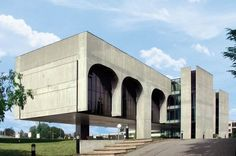 FATA Headquarters, Pianezza (Turin) Italy (1975) | Oscar Niemeyer