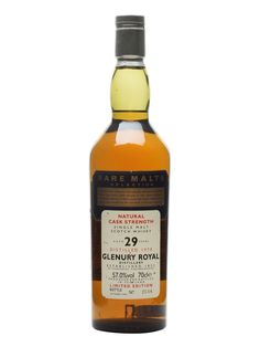 Glenury Royal 1970 - 29 Year Old - Rare Malts Scotch Whisky : The Whisky…