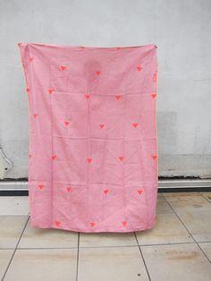 Pink + Hearts, by Caroline Zucchero Hurley