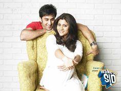 """My fav actor & actress Ranbir Kapoor and Konkona Sen Sharma. Pic from my fav. movie """"Wake Up Sid"""" :)"""