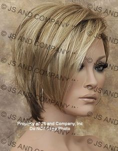 Short and Tapered Wig