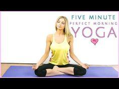 Morning Yoga Perfection | 5 Minute Miracle | Rise & Shine Sleepy Bear Yoga - YouTube