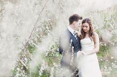 spring wedding blossom uk somerset