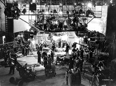 Behind the Scenes Shots of Classic Hollywood Movies