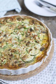 supermakkelijke en lekkere quiche-courgette-met-champignons-en-geitenkaas