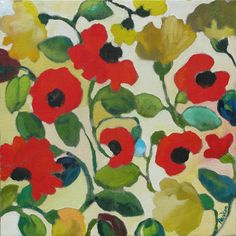 'Red Poppies' by Kim Parker