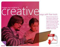 Free tools in the classroom    It's a clicking, web-surfing, interactive world. How does a teacher engage today's students? Introduce them to the many free, captivating, digital tools from Microsoft.