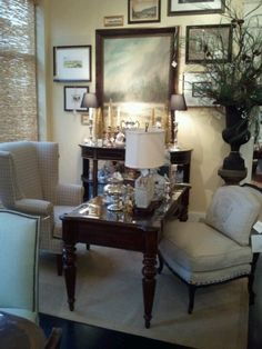 Leather chairs gotham and home interiors on pinterest - Design home interiors montgomeryville ...