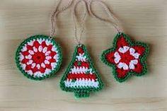 adornos navideños al crochet - Buscar con Google