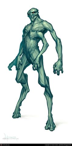 http://fowlerillus.cgsociety.org/art/alien-photoshop-character-concept-four-arms-humanoid-2d-914719