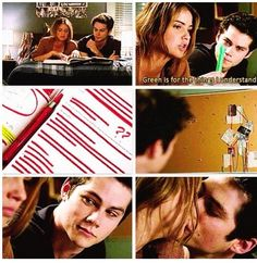 Teen wolf I think they are sooo cute Teen Wolf Malia, Stiles And Malia, Teen Wolf Dylan, Teen Wolf Cast, Dylan O'brien, Malia Hale, Best Tv Shows, Best Shows Ever, Favorite Tv Shows