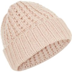Accessorize Thins Pearlized Chunky Beanie (€30) ❤ liked on Polyvore featuring accessories, hats, chunky knit hat, fleece beanie hat, beanie hats, fleece hat and chunky knit beanie