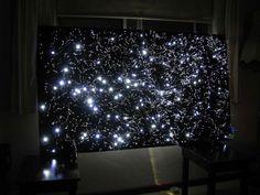 DIY Fiber Optic Star Map