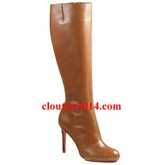 Discount Christian Louboutin Boots Simple Botta 100mm Leather Br