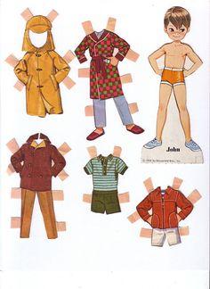 Dolly Darlings - Lorie Harding - Álbuns da web do Picasa Cardboard Crafts, Paper Crafts, Paper Dolls Printable, Vintage Paper Dolls, Little Doll, Retro Toys, Paper Toys, Vintage Patterns, Cool Kids