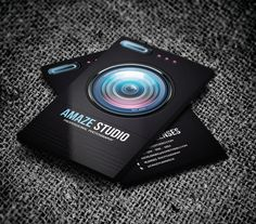 Photographer Lens Business Card  #businesscards #visitingcards #businesscardsdesign