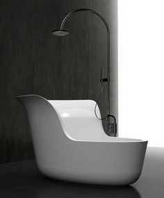 Small Space Soaking Tub Shower Combo.