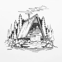 A-frame of mind ✍