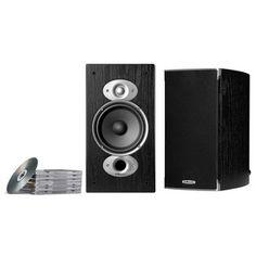 Polk Audio RTi A3 Two-way Bookshelf Speakers Black