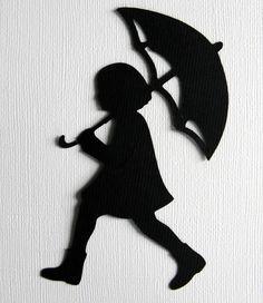 Slhouette Singing in the Rain Girly. $8.00, via Etsy.