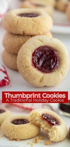 Easy Holiday Cookies, Easy Christmas Cookie Recipes, Easy Cookie Recipes, Easy Simple Cookies, Simple Cookie Recipe, Holiday Meals, Holiday Recipes, Jelly Cookies, Raisin Cookies