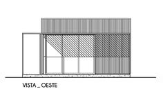 House PRO.CRE.AR 01,West Elevation