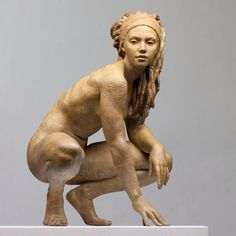 """""""Sculpture is as much an inspiration source as painting. ❤️ """"Walking in Beauty"""". By Coderch and Malavia. Art Sculpture, Bronze Sculpture, Human Sculpture, Art For Art Sake, Art Plastique, Erotic Art, Figurative Art, Amazing Art, Museum"""