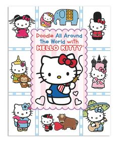 Look at this Hello Kitty Doodle Around the World Activity Paperback on #zulily today!
