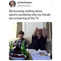 Bts Memes, I Know, Sports, Hs Sports, Sport
