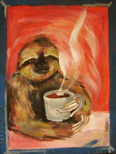 Coffee Sloth