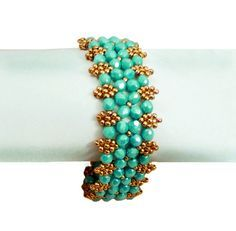 Free pattern for bracelet Aphrodite from Beads Magic.  Like with most of these patterns, a take off on RAW ~ Seed Bead Tutorials