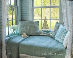 Seaside Cottage Interior Design | ... /beach-cottage-interiors/ ... because the ocean get you the