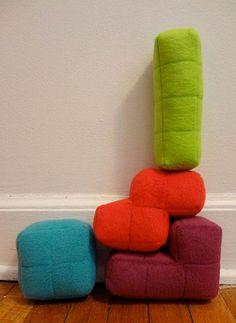 tetris pillows!