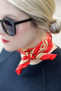 Neck Scarf - A Lacey Perspective