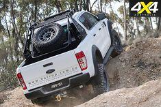 Custom Ford Ranger PXII rear uphill