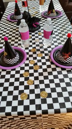 Five Nights at Freddy's Table, Party Hats, Bottled Watter Wrappers,Centerpieces, Tokens,  FNAF     partyluxshop@gmail.com