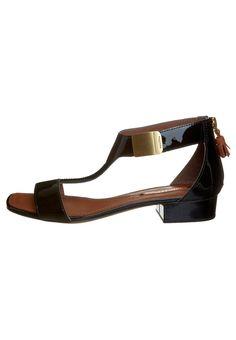 Sandalen - Zwart Marc O Polo, Flats, Heels, Fashion, Sandals, Loafers & Slip Ons, Heel, Moda, Fashion Styles