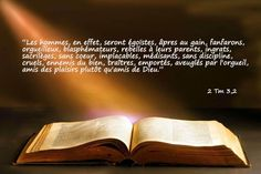 Nouveau Testament: 2ème Épître à Timothée de saint Paul