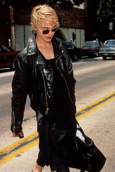 Madonna / Sean Penn / Papa Don't Preach look.