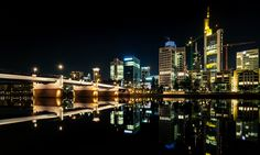 Bridge to Frankfurt City by Kevin Chileong Lee - Photo 141298815 - 500px