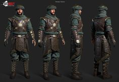 Persian Warrior / Art Bully Productions Workshop - Polycount Forum