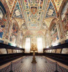 Piccolomini Library, Siena, Italy