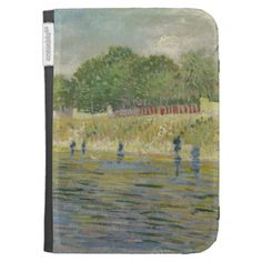Bank of the Seine by Vincent Van Gogh Kindle 3 Cover