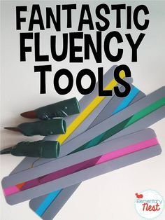 Fluency Tools to make fluency instruction fun- a few fluency materials highlighted to use in a primary classroom Reading Fluency, Reading Intervention, Teaching Reading, Guided Reading, Early Reading, Learning, Third Grade Reading, Middle School Reading, Reading Resources
