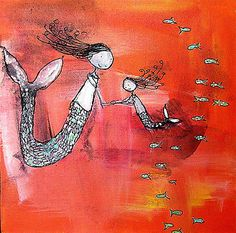 Mermaid Daughter by Johanna Wright